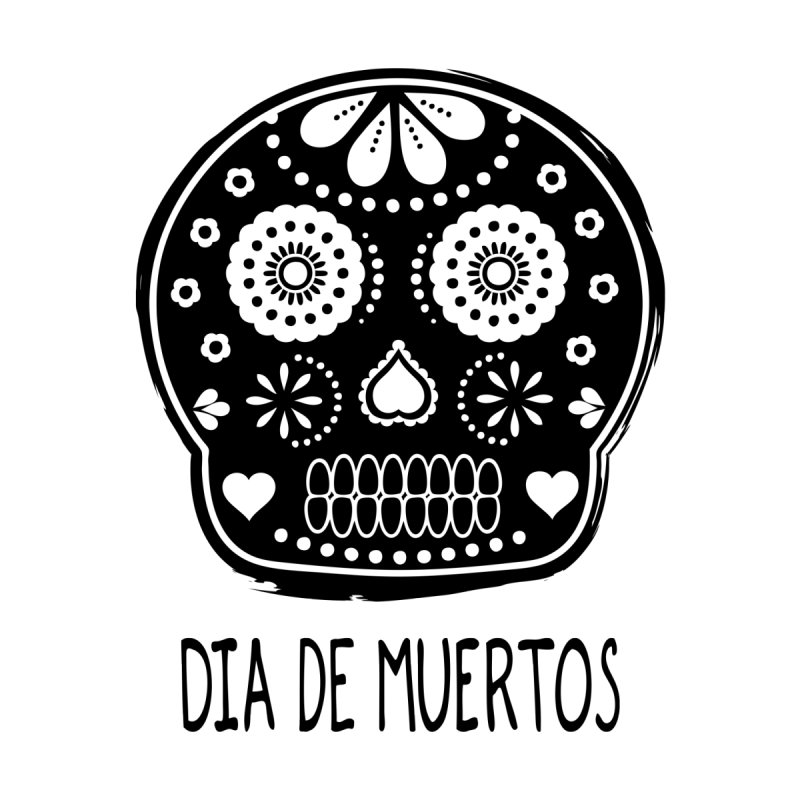 Dia de Muertos Men's Triblend Tank by heyale's Artist Shop