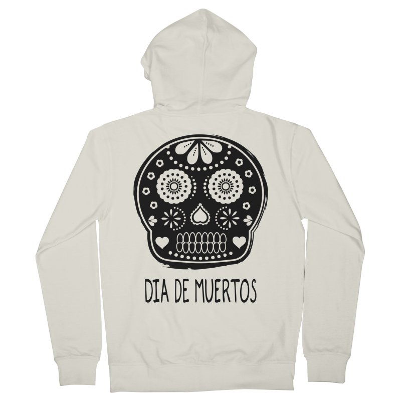Dia de Muertos Men's Zip-Up Hoody by heyale's Artist Shop