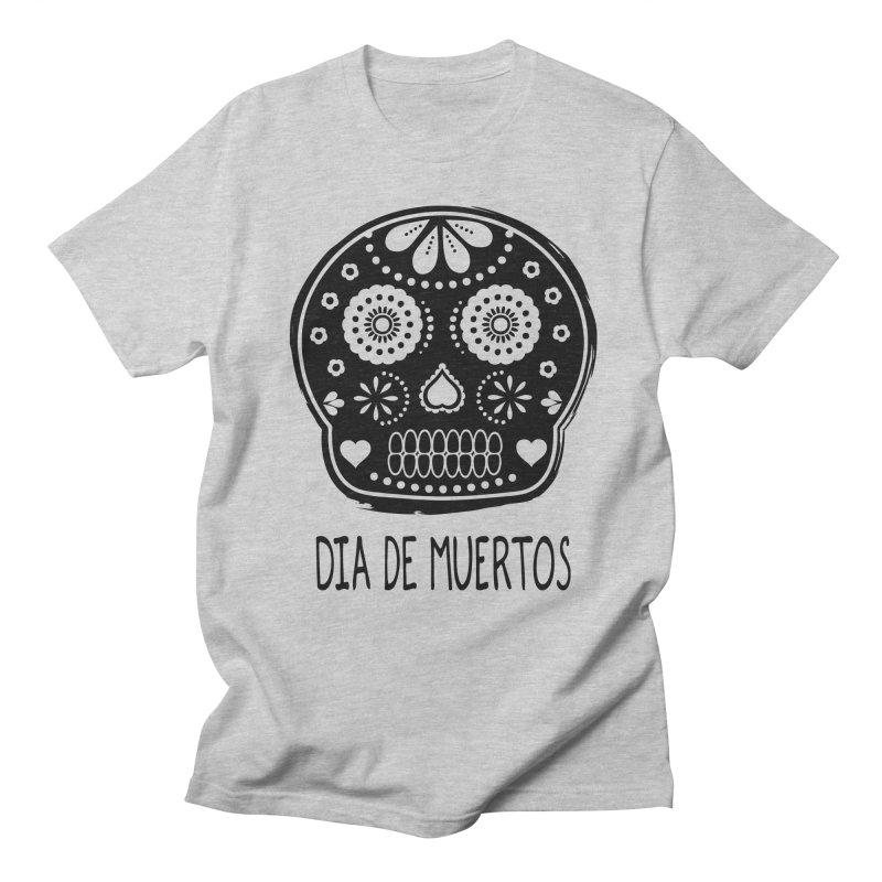 Dia de Muertos Men's T-shirt by heyale's Artist Shop