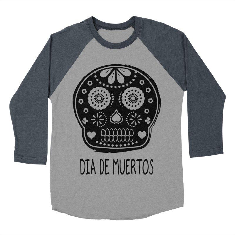 Dia de Muertos Women's Baseball Triblend T-Shirt by heyale's Artist Shop