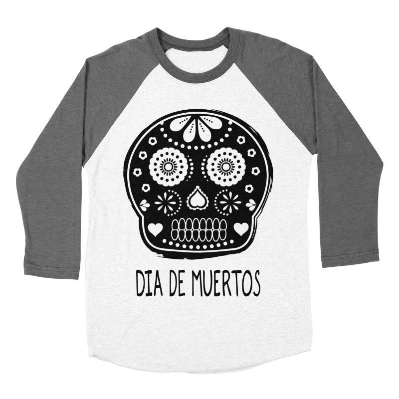 Dia de Muertos Men's Baseball Triblend T-Shirt by heyale's Artist Shop