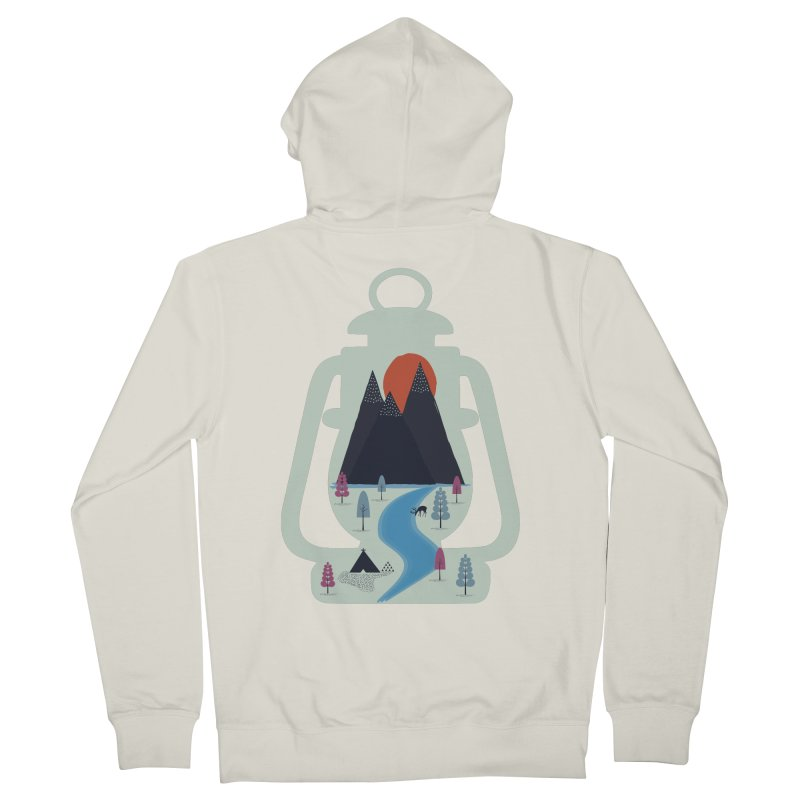 Camping Women's Zip-Up Hoody by heyale's Artist Shop