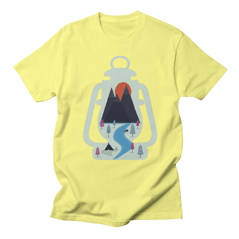 Camping Men's T-shirt by heyale's Artist Shop
