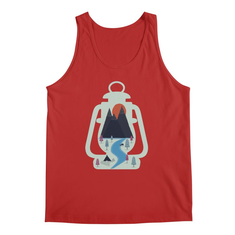 Camping Men's Tank by heyale's Artist Shop