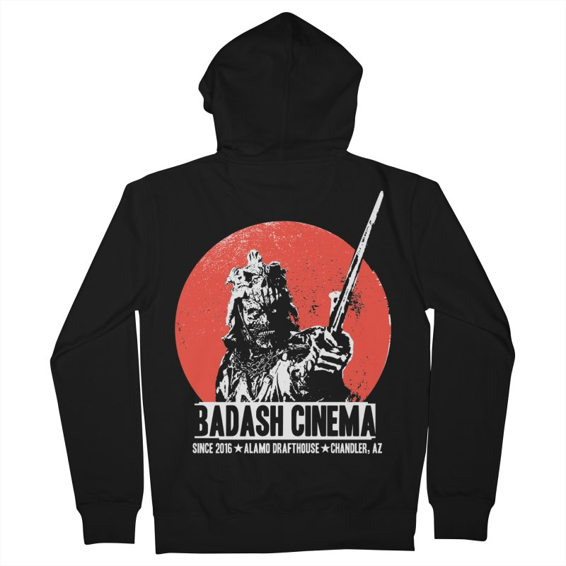 BADASH CINEMA ★ ALAMO ★ CHANDLER Women's French Terry Zip-Up Hoody by heycraig's artist shop