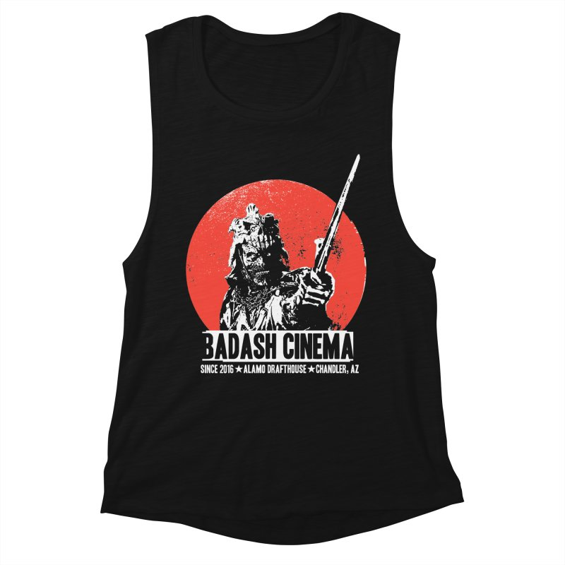BADASH CINEMA ★ ALAMO ★ CHANDLER Women's Muscle Tank by heycraig's artist shop