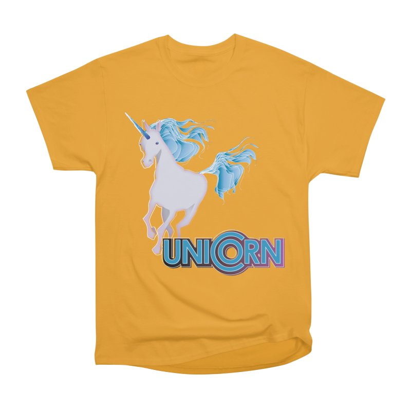 FREAKIN' UNICORN! Women's Heavyweight Unisex T-Shirt by heycraig's artist shop