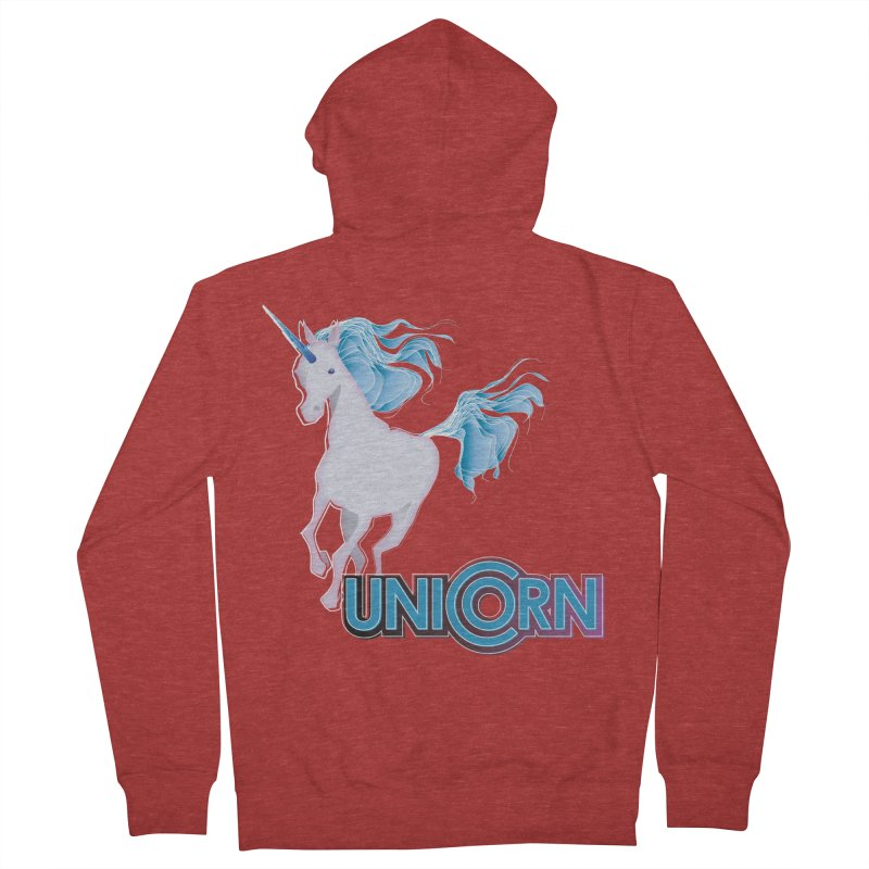 FREAKIN' UNICORN! Women's French Terry Zip-Up Hoody by heycraig's artist shop
