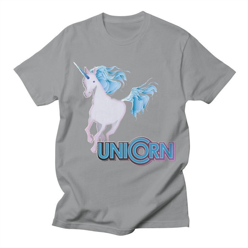 FREAKIN' UNICORN! Women's Regular Unisex T-Shirt by heycraig's artist shop