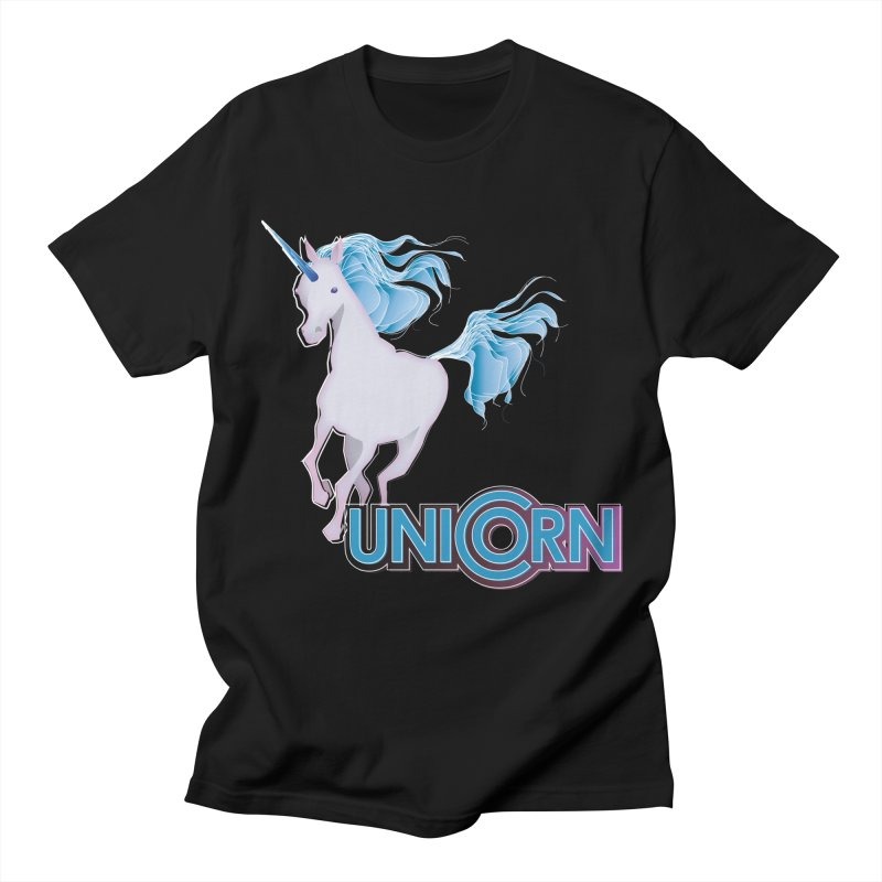 FREAKIN' UNICORN! Men's Regular T-Shirt by heycraig's artist shop