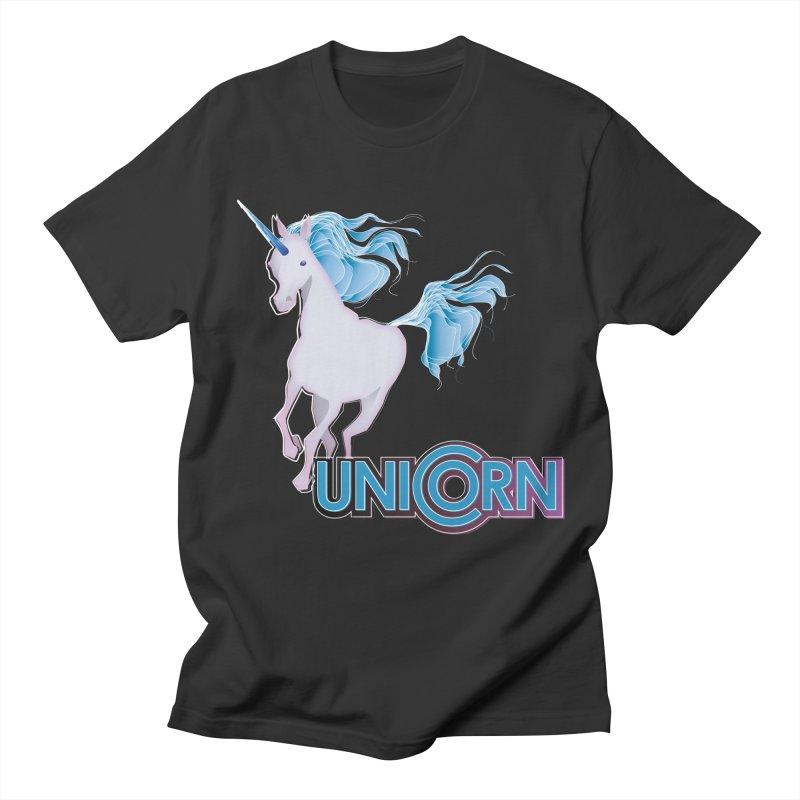 FREAKIN' UNICORN! Men's Regular T-Shirt by heycraig's artist shop