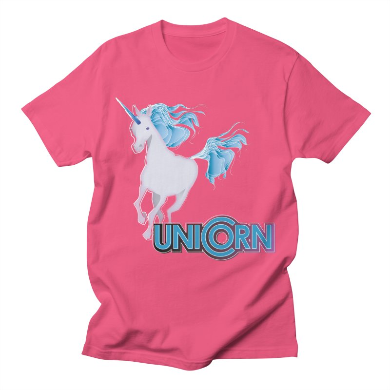 FREAKIN' UNICORN! Women's Regular Unisex T-Shirt by heycraig's artist shop