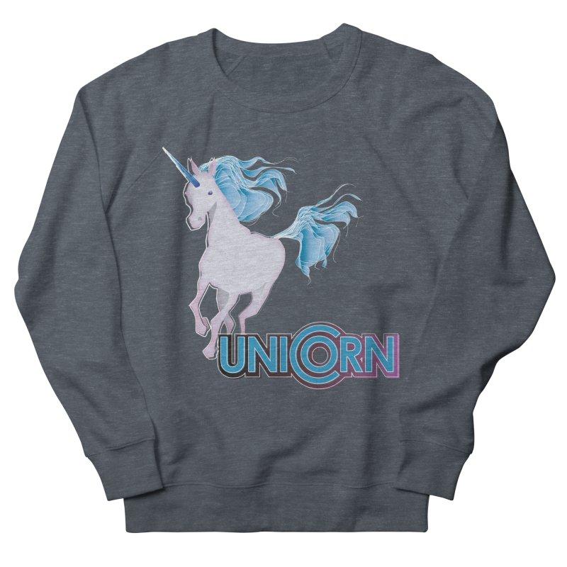 FREAKIN' UNICORN! Women's French Terry Sweatshirt by heycraig's artist shop