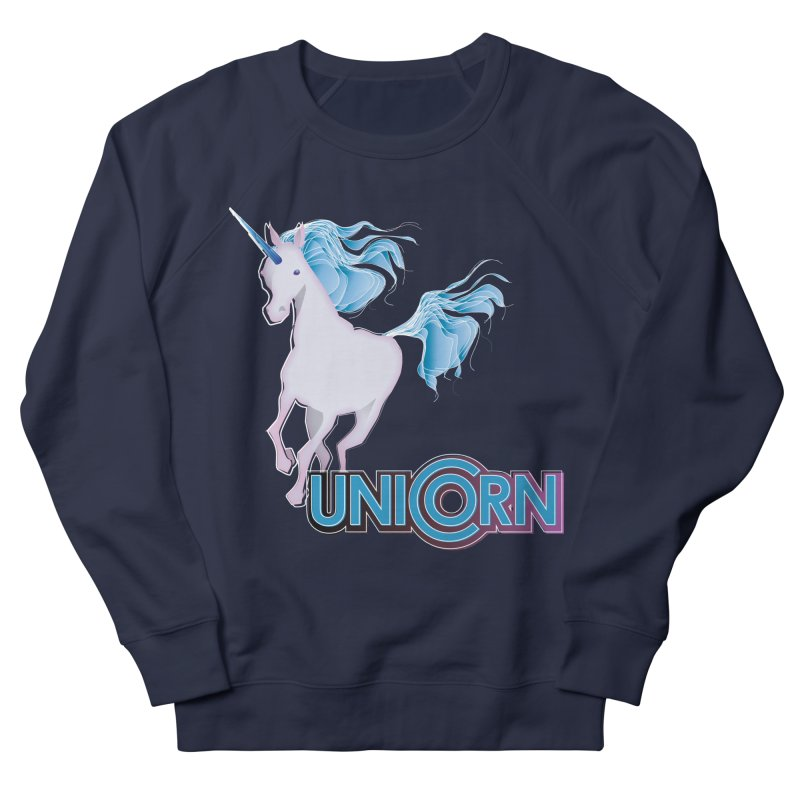 FREAKIN' UNICORN! Women's French Terry Sweatshirt by heycraig's artist shop