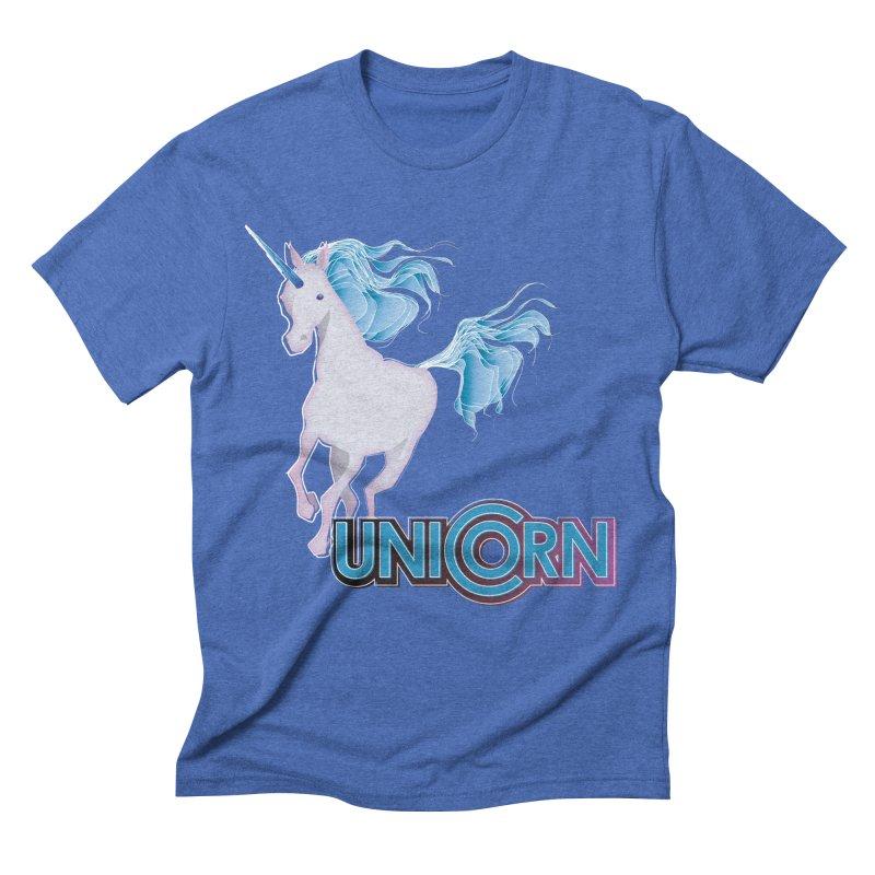 FREAKIN' UNICORN! Men's Triblend T-Shirt by heycraig's artist shop