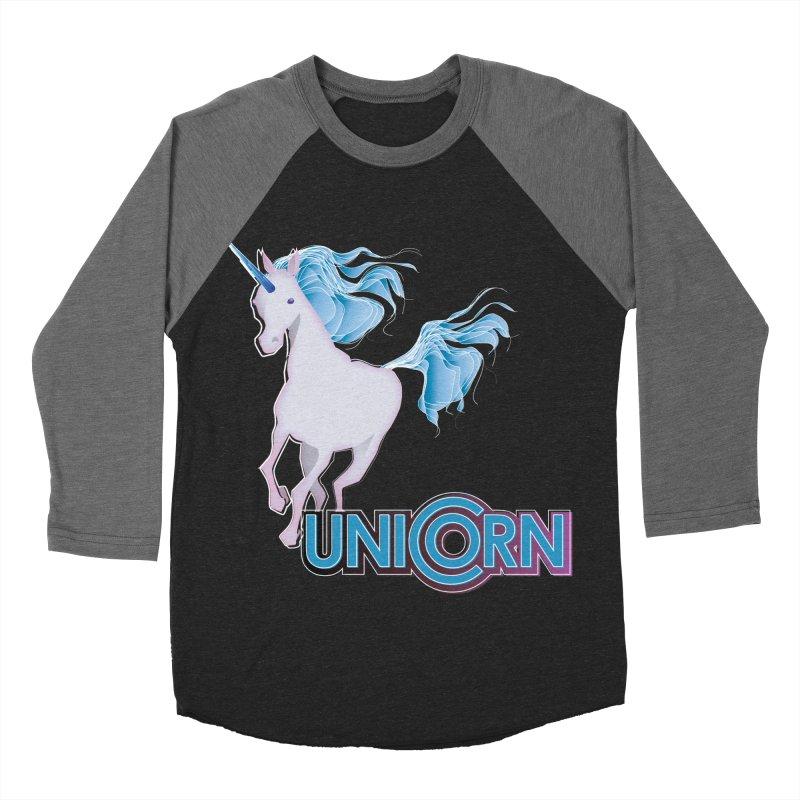 FREAKIN' UNICORN! Women's Baseball Triblend Longsleeve T-Shirt by heycraig's artist shop