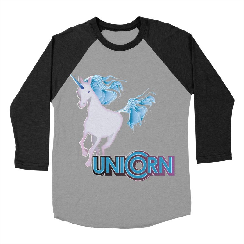 FREAKIN' UNICORN! Women's Baseball Triblend Longsleeve T-Shirt by heycraig's artist shop