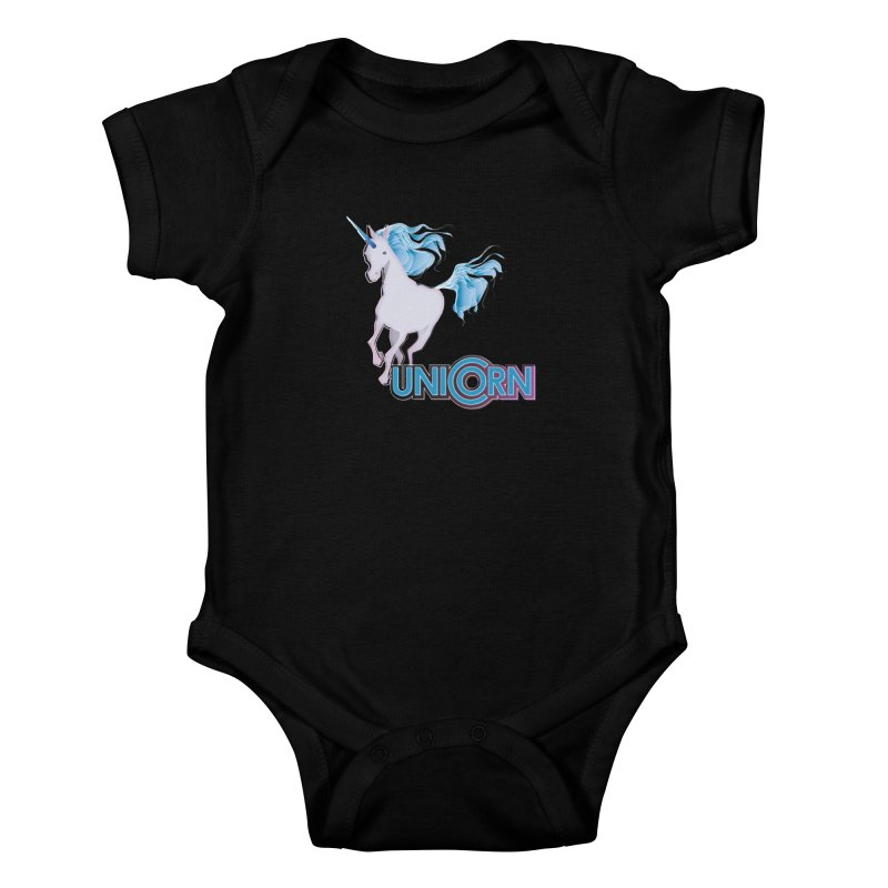 FREAKIN' UNICORN! Kids Baby Bodysuit by heycraig's artist shop