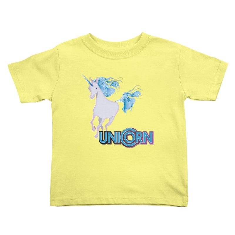 FREAKIN' UNICORN! Kids Toddler T-Shirt by heycraig's artist shop