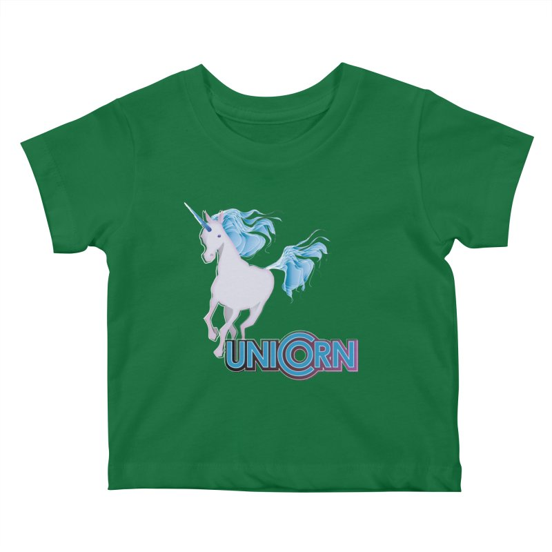 FREAKIN' UNICORN! Kids Baby T-Shirt by heycraig's artist shop