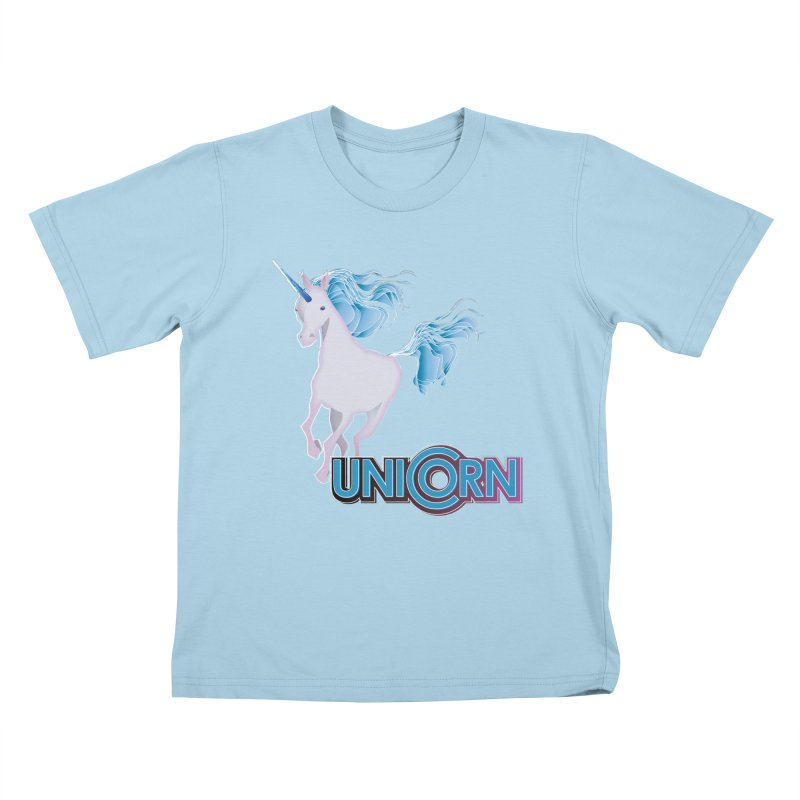 FREAKIN' UNICORN! Kids T-Shirt by heycraig's artist shop