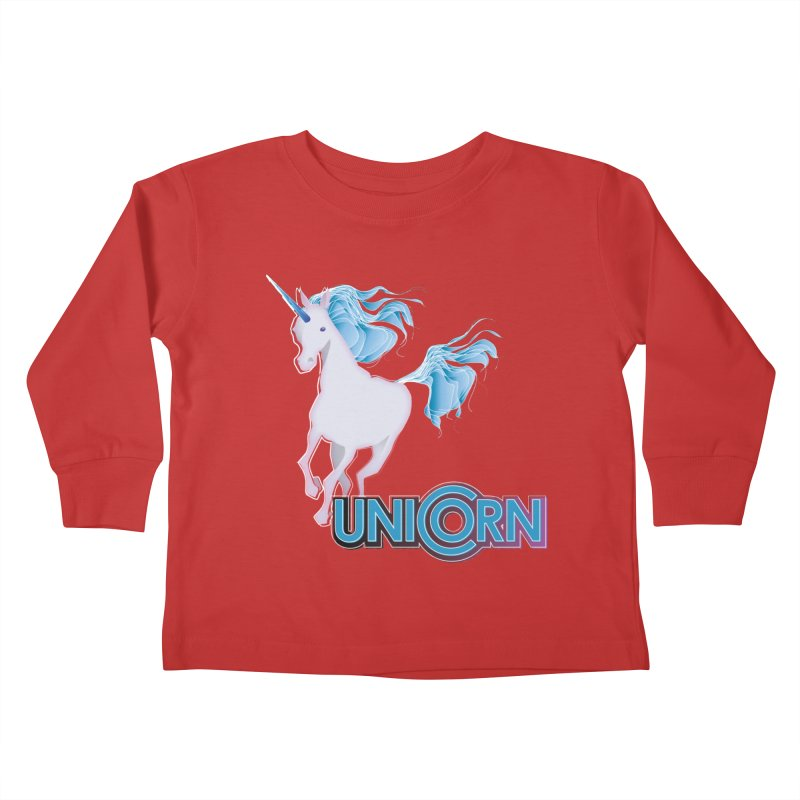 FREAKIN' UNICORN! Kids Toddler Longsleeve T-Shirt by heycraig's artist shop