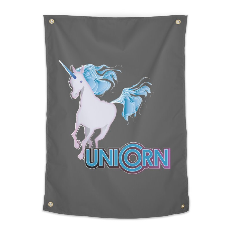 FREAKIN' UNICORN! Home Tapestry by heycraig's artist shop