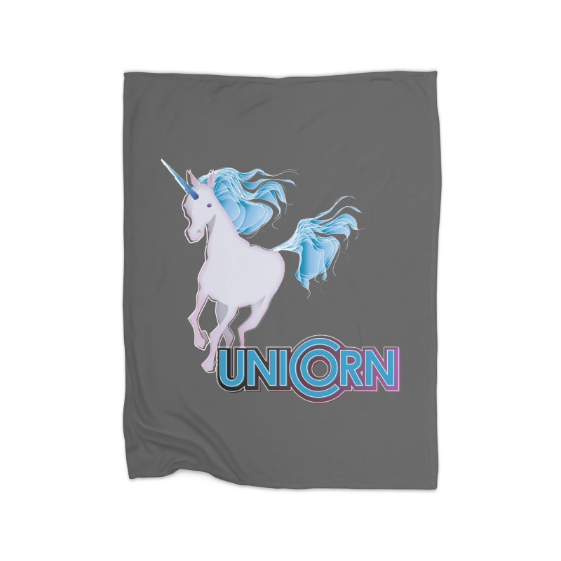FREAKIN' UNICORN! Home Blanket by heycraig's artist shop