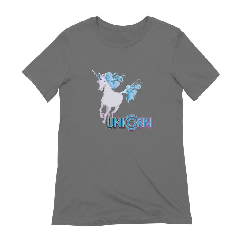 FREAKIN' UNICORN! Women's T-Shirt by heycraig's artist shop