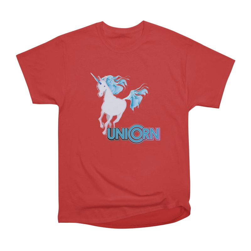 FREAKIN' UNICORN! Women's Heavyweight Unisex T-Shirt by heycraig's artist shop