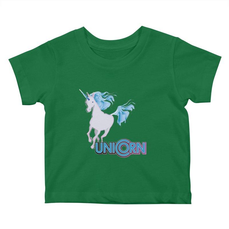 FREAKIN' UNICORN! Kids Baby T-Shirt by heycraig's artist shop