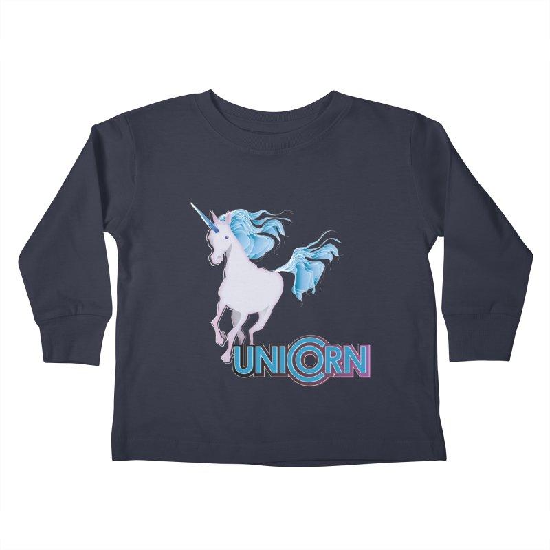 FREAKIN' UNICORN! Kids Toddler Longsleeve T-Shirt by heycraig's artist shop