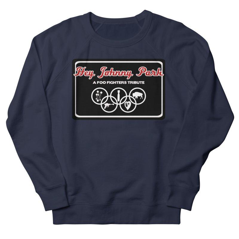 Upper Offset Logo Women's French Terry Sweatshirt by heyjohnnypark's Artist Shop