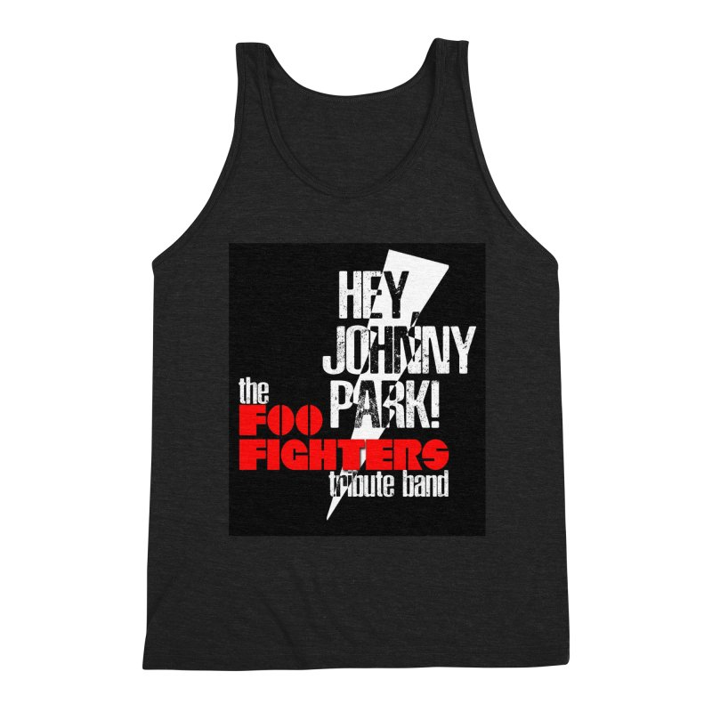 Logo Two Men's Triblend Tank by heyjohnnypark's Artist Shop