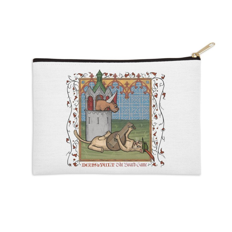 The Merry Month of May Accessories Zip Pouch by Deus Lo Vult Merchandise Store