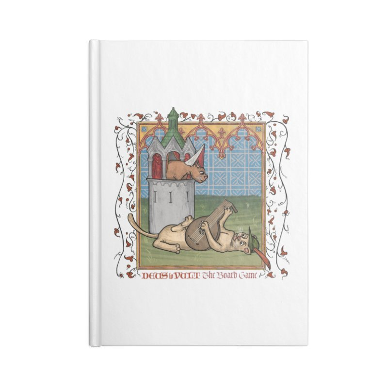 The Merry Month of May Accessories Notebook by Deus Lo Vult Merchandise Store