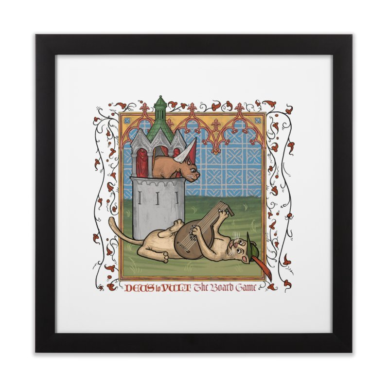 The Merry Month of May Home Framed Fine Art Print by Deus Lo Vult Merchandise Store