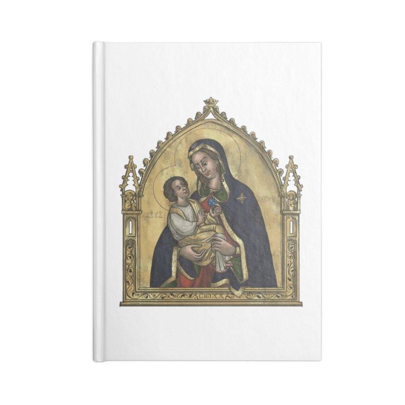 Madonna Accessories Notebook by Deus Lo Vult Merchandise Store