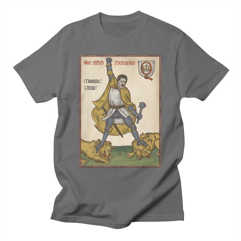Sir Mercurius Men's T-Shirt by Deus Lo Vult Merchandise Store