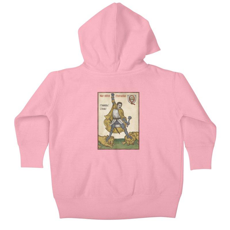 Sir Mercurius Kids Baby Zip-Up Hoody by Deus Lo Vult Merchandise Store