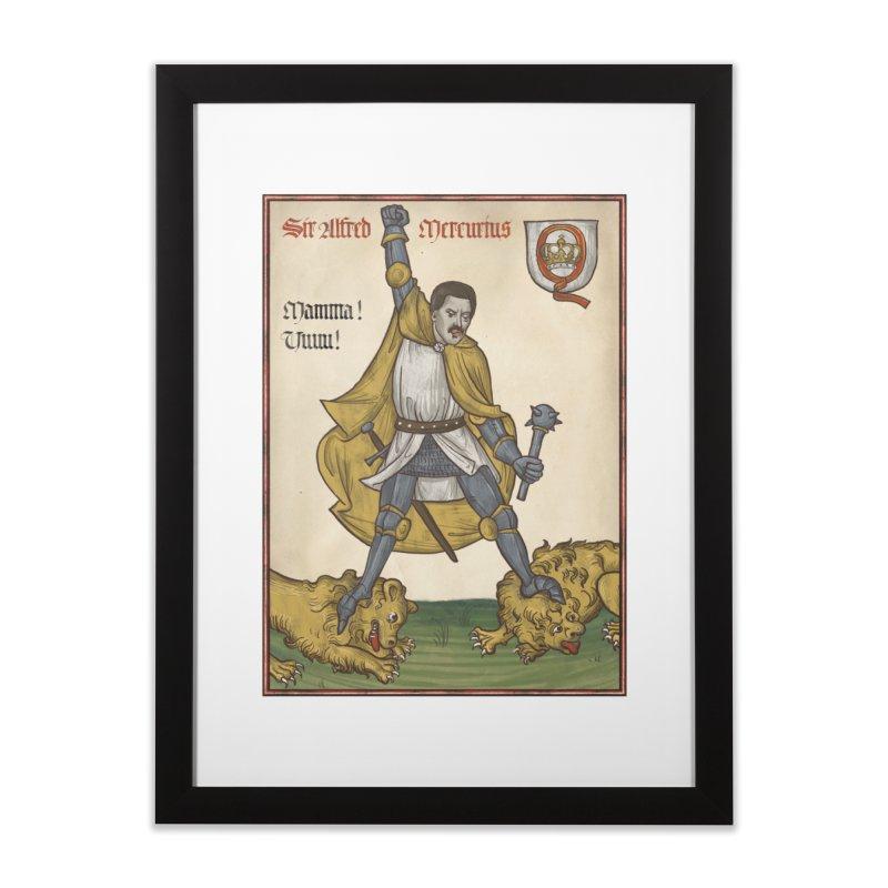 Sir Mercurius Home Framed Fine Art Print by Deus Lo Vult Merchandise Store