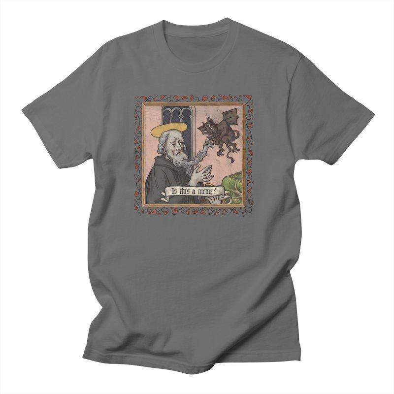 Antonius Magnus Men's T-Shirt by Deus Lo Vult Merchandise Store