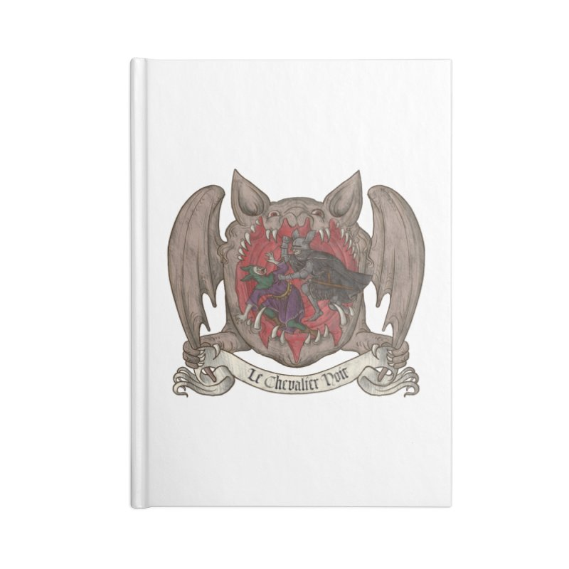 Le Chevalier Noir Accessories Notebook by Deus Lo Vult Merchandise Store