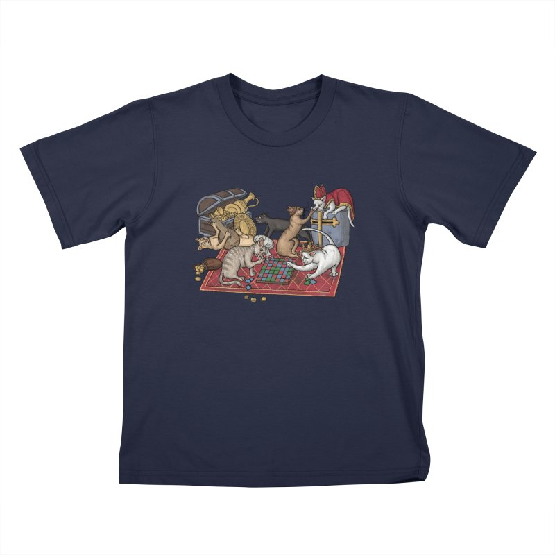 Сatti ludenti #1 Kids T-Shirt by Deus Lo Vult Merchandise Store