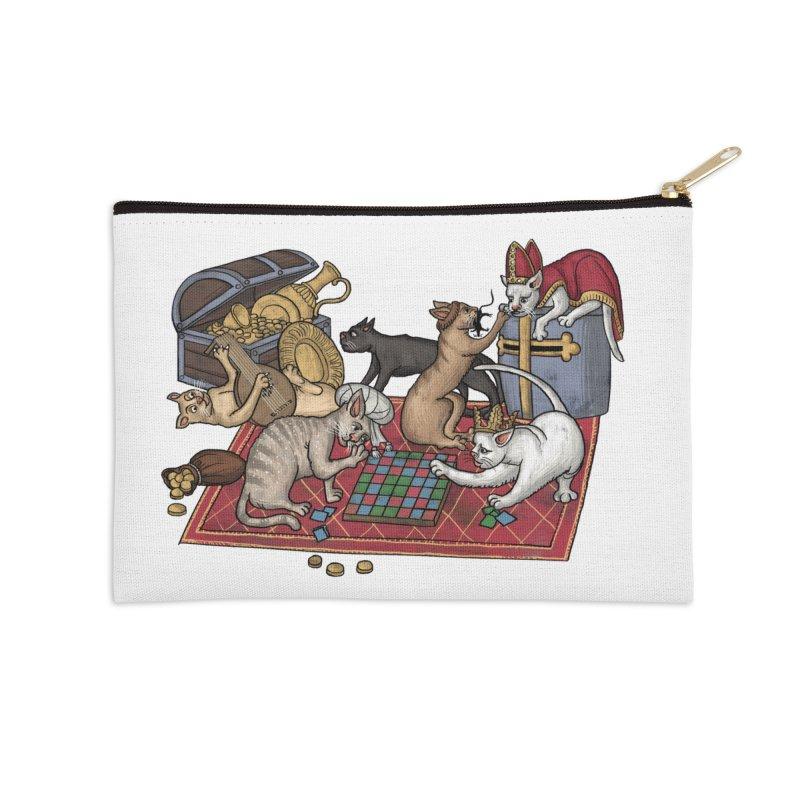 Сatti ludenti #1 Accessories Zip Pouch by Deus Lo Vult Merchandise Store