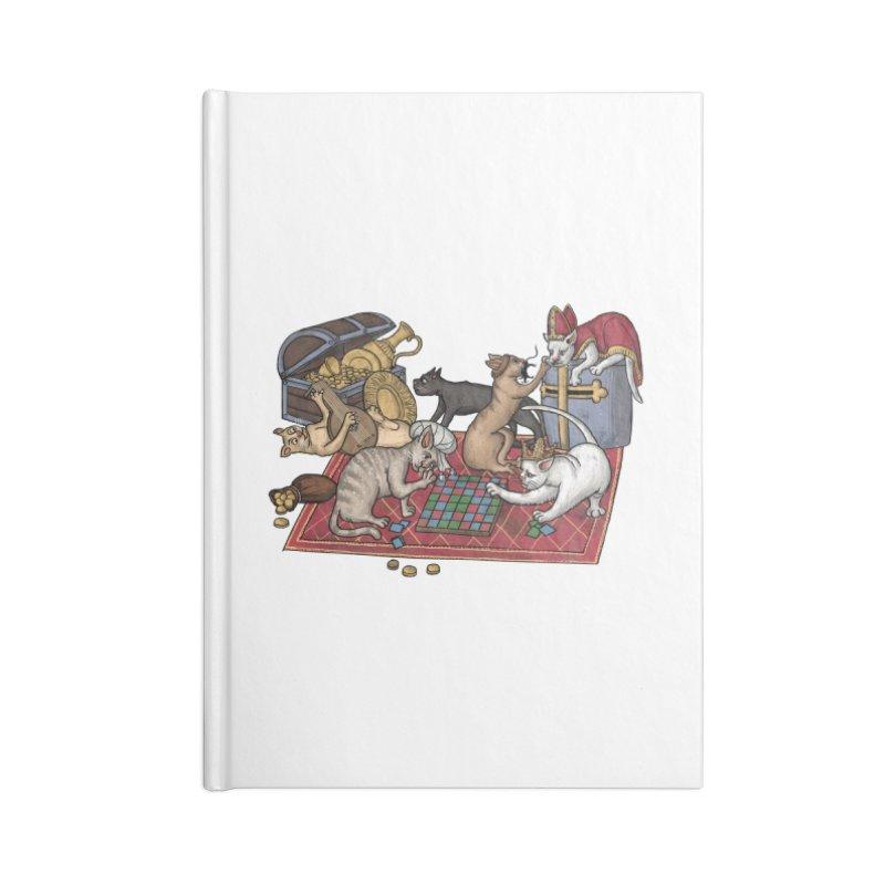 Сatti ludenti #1 Accessories Notebook by Deus Lo Vult Merchandise Store