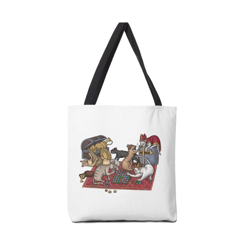 Сatti ludenti #1 Accessories Bag by Deus Lo Vult Merchandise Store