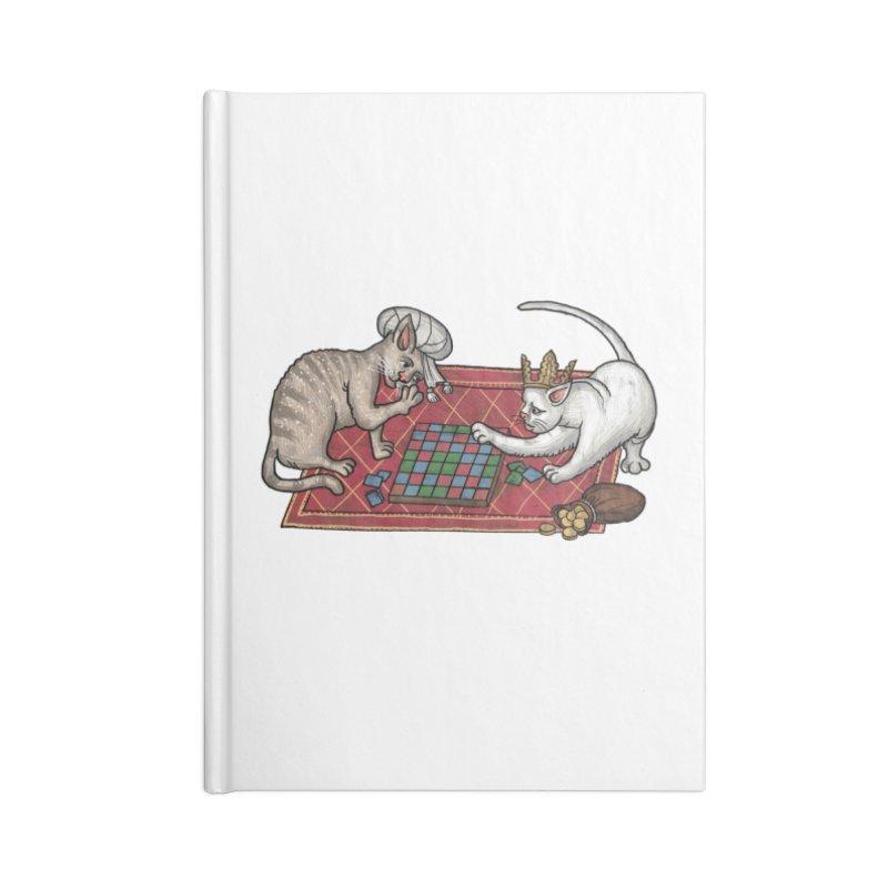 Сatti ludenti #2 Accessories Notebook by Deus Lo Vult Merchandise Store