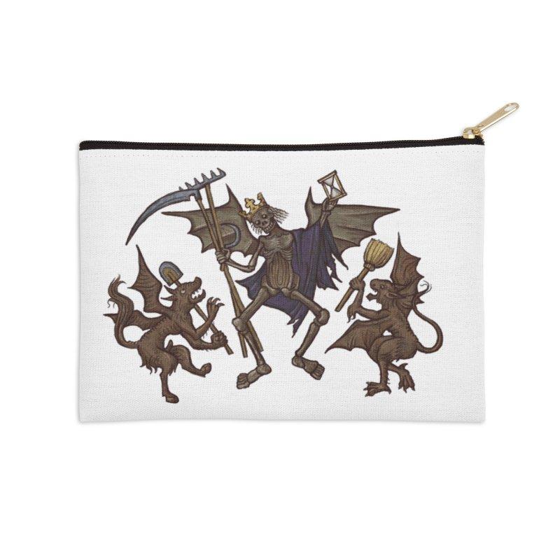 Toten Tanz #1 Accessories Zip Pouch by Deus Lo Vult Merchandise Store