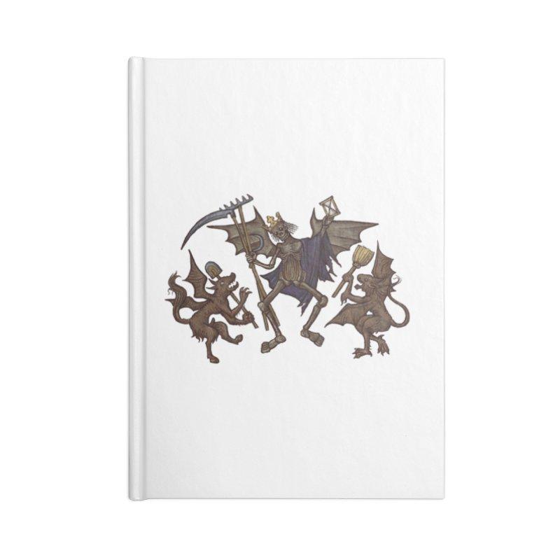 Toten Tanz #1 Accessories Notebook by Deus Lo Vult Merchandise Store